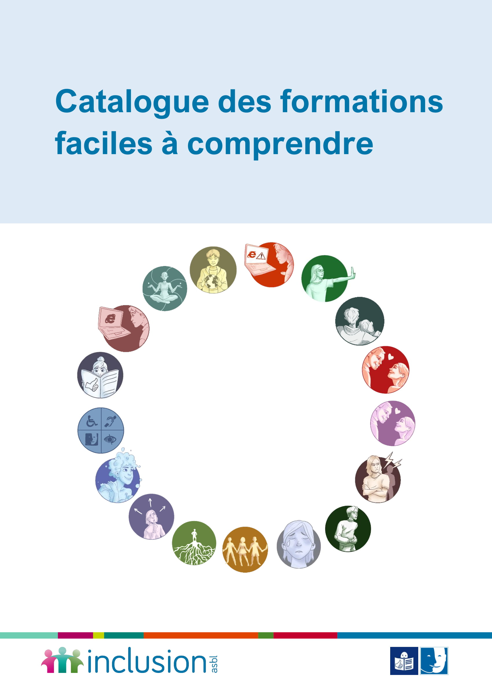 couverture du catalogue des formations faciles à comprendre