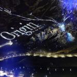 une photo du spectacle Origin du Domaine des Grottes de Han